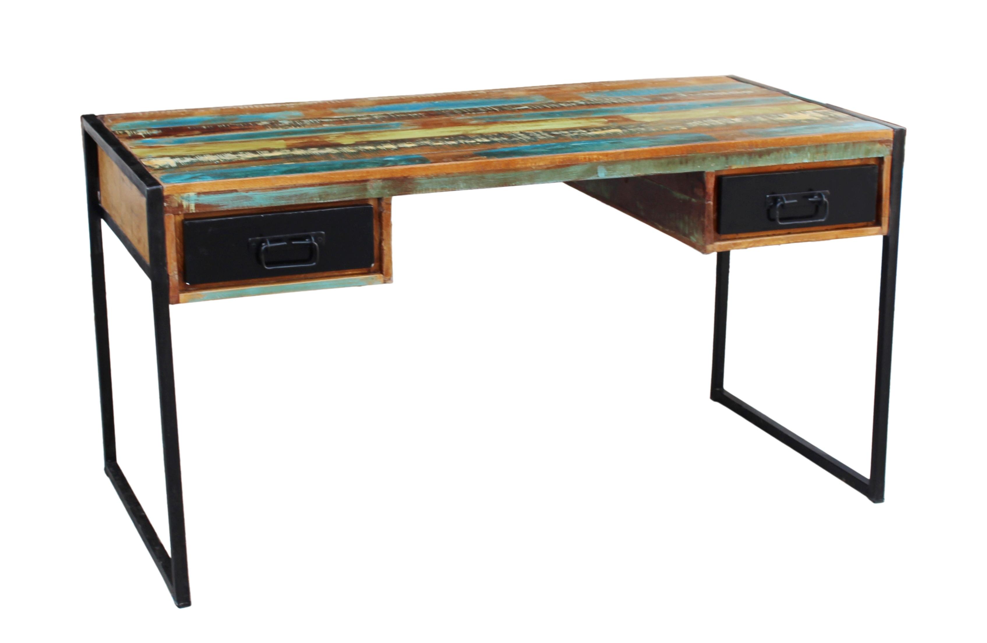 Sit Schreibtisch aus recyceltem Altholz Bali