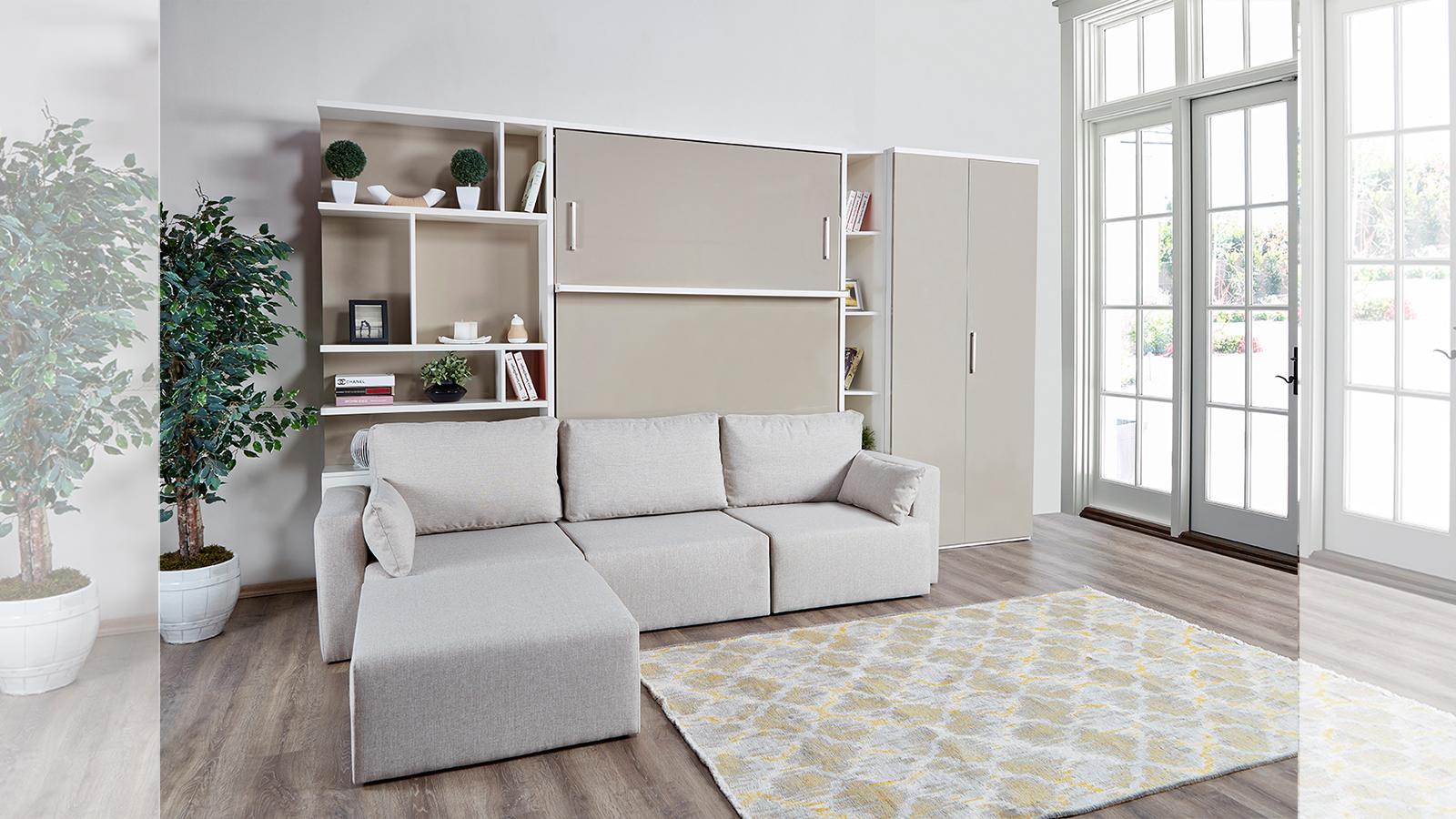 Multimo Schlafzimmer Set Royals mit Sofa & Schrankbett