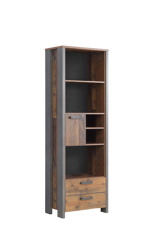 Bücherregal mit Schubkästen Cleo 1-türig