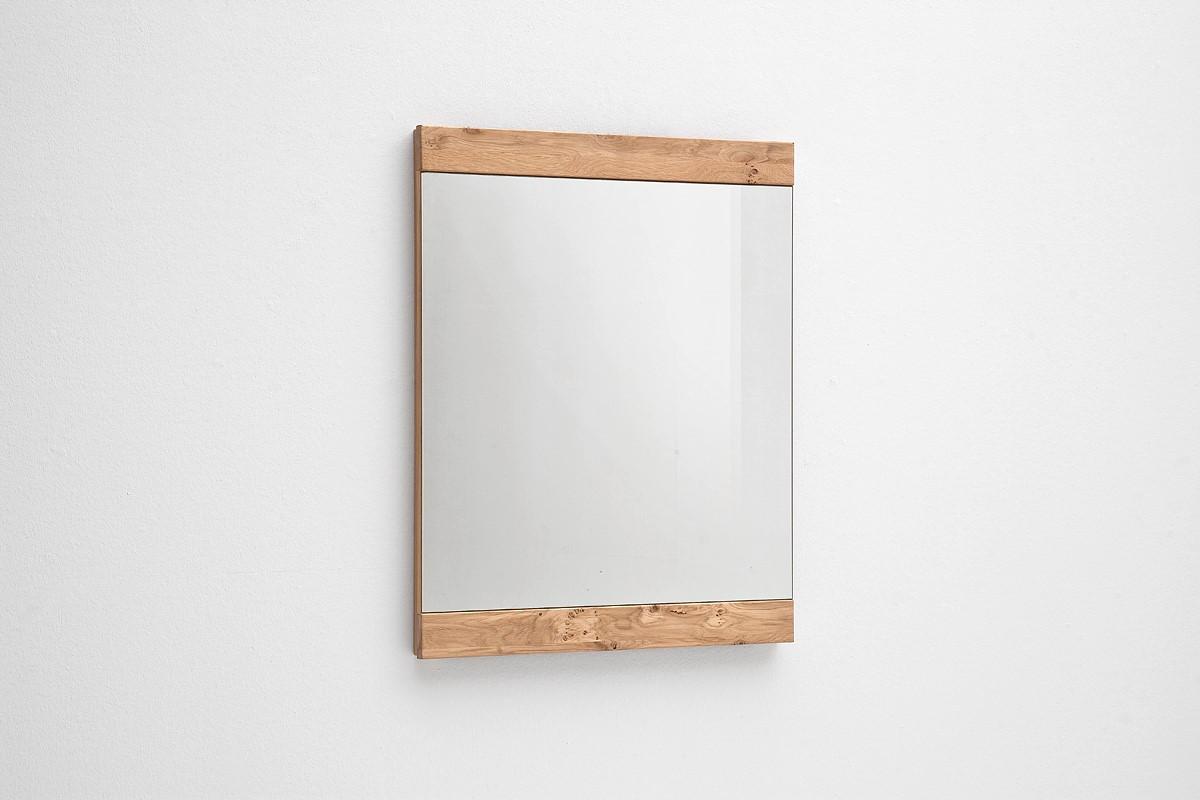 Wandspiegel Meja in Asteiche Bianco massiv Vertikal