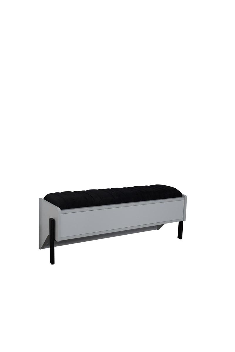 Titi Sitzbank Dynamic mit Stauraum aufklappbar 120 cm