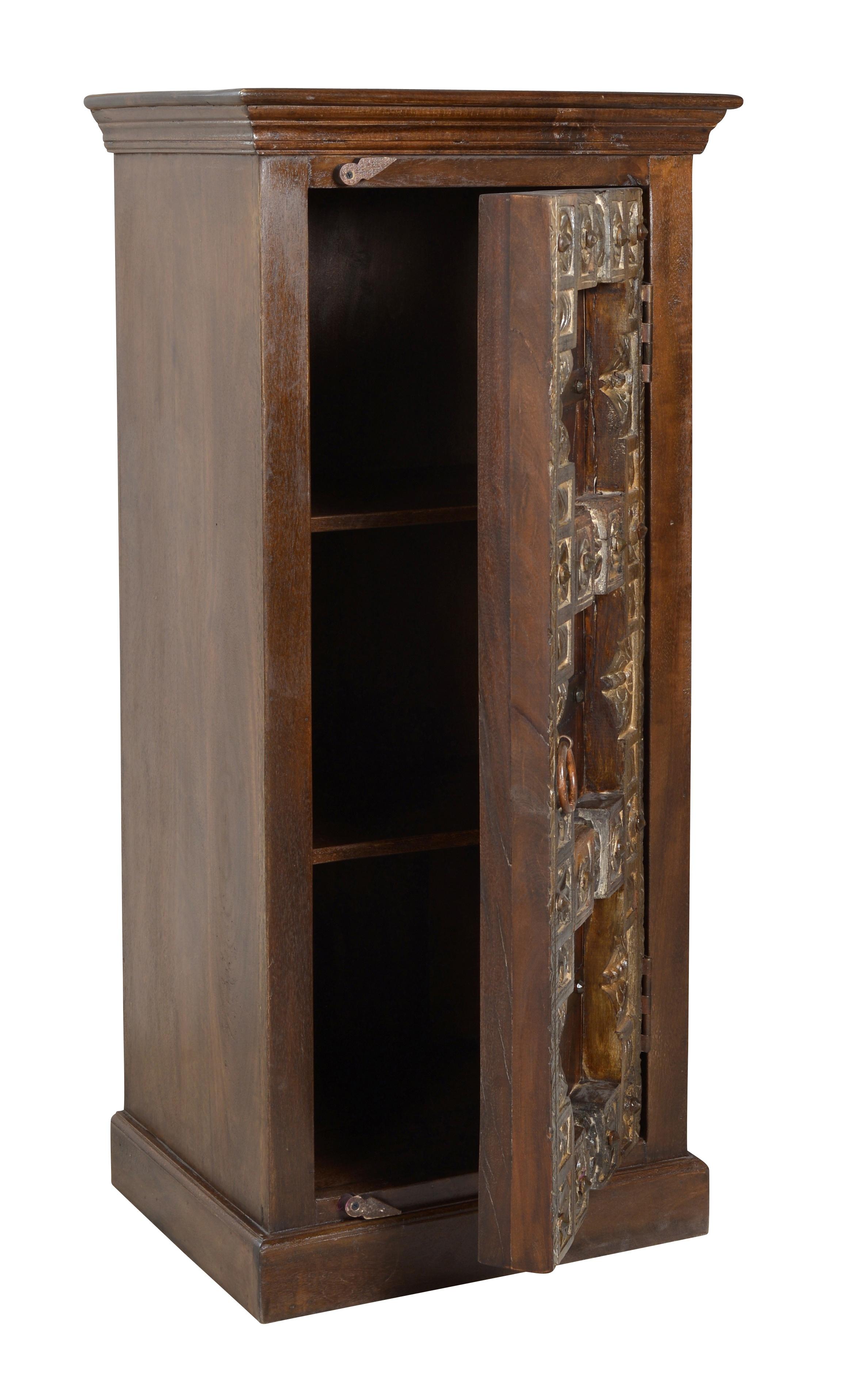 Sit Kommode Almirah aus recyceltem Holz 1-türig