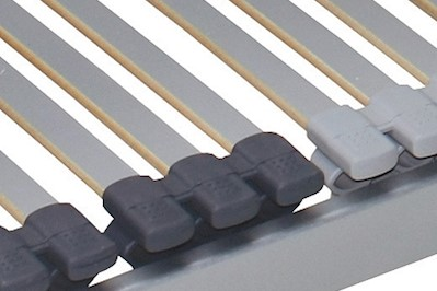 7 Zonen Lattenrost Korry mit 42 Federleisten 80x190cm