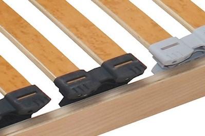 7 Zonen Lattenrost Rolly mit erhöhter Tragfähigkeit 90x190cm