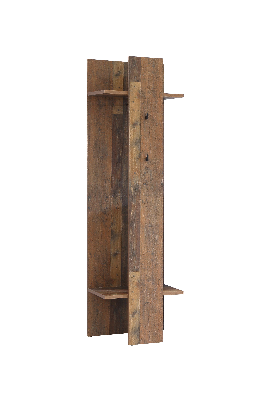 Garderobenpaneel in Holz Optik Cleo
