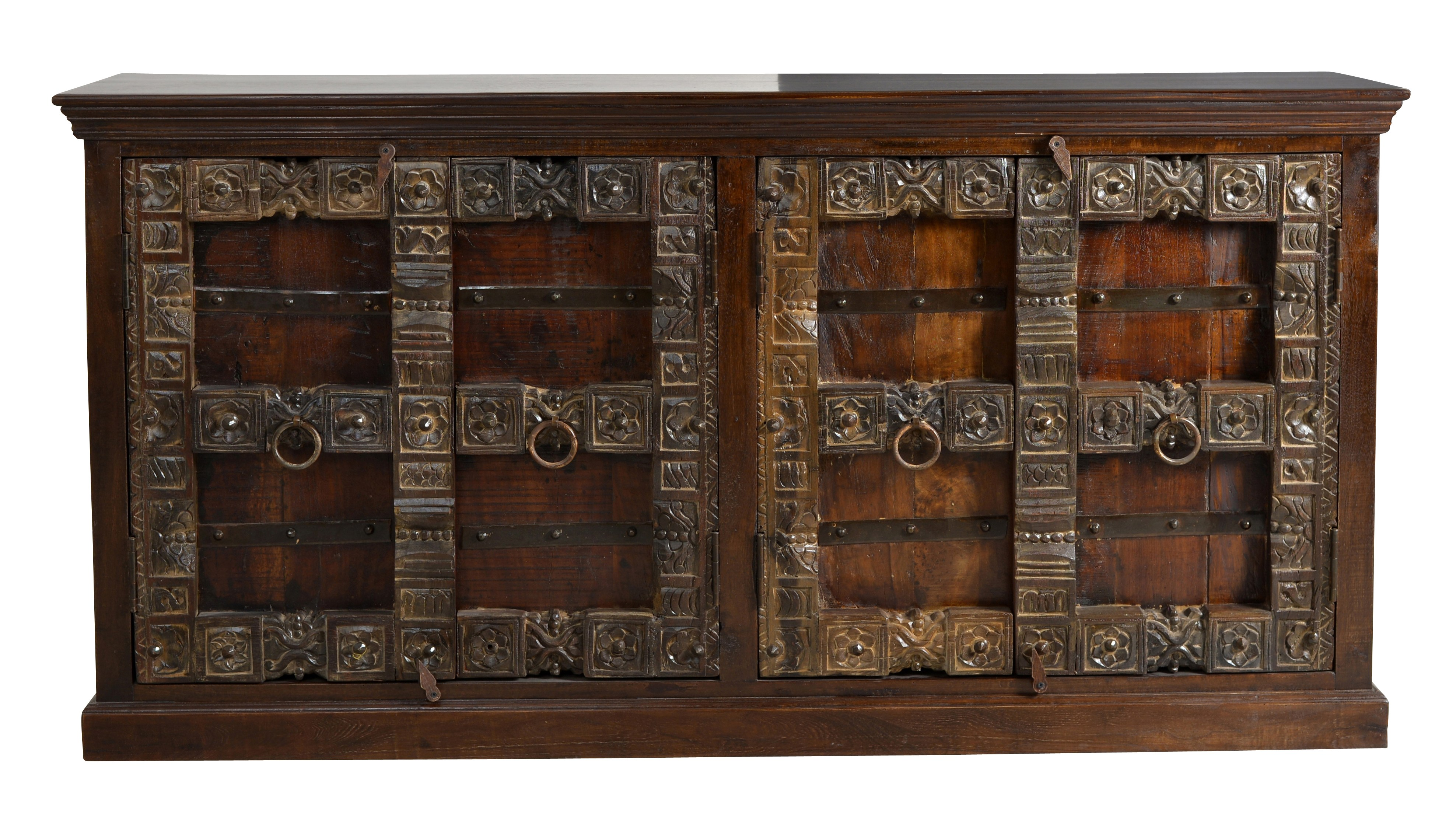Sit Sideboard aus recyceltem Holz Almirah 4-türig