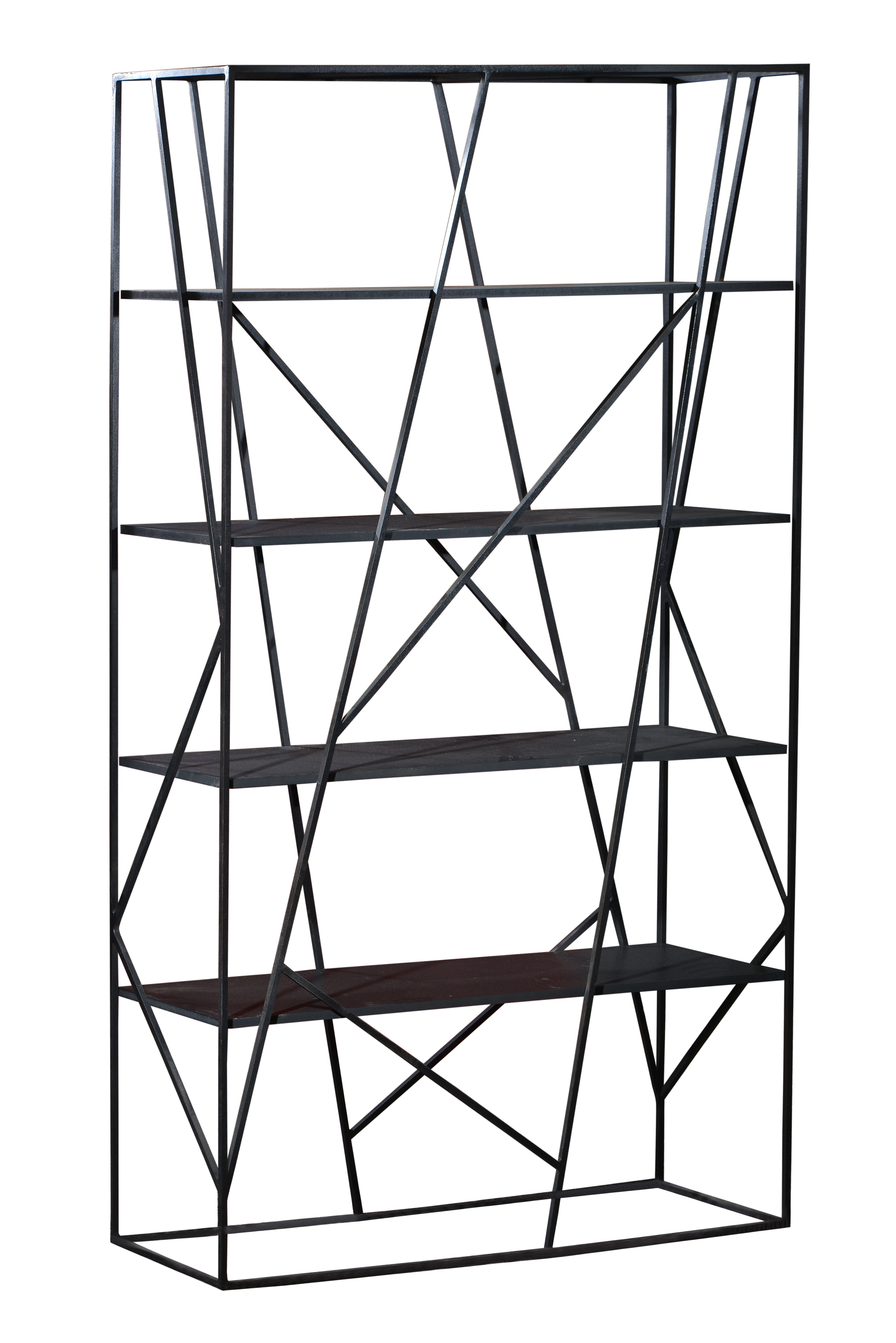 Design Regal Esem aus Roheisen 120x200x38