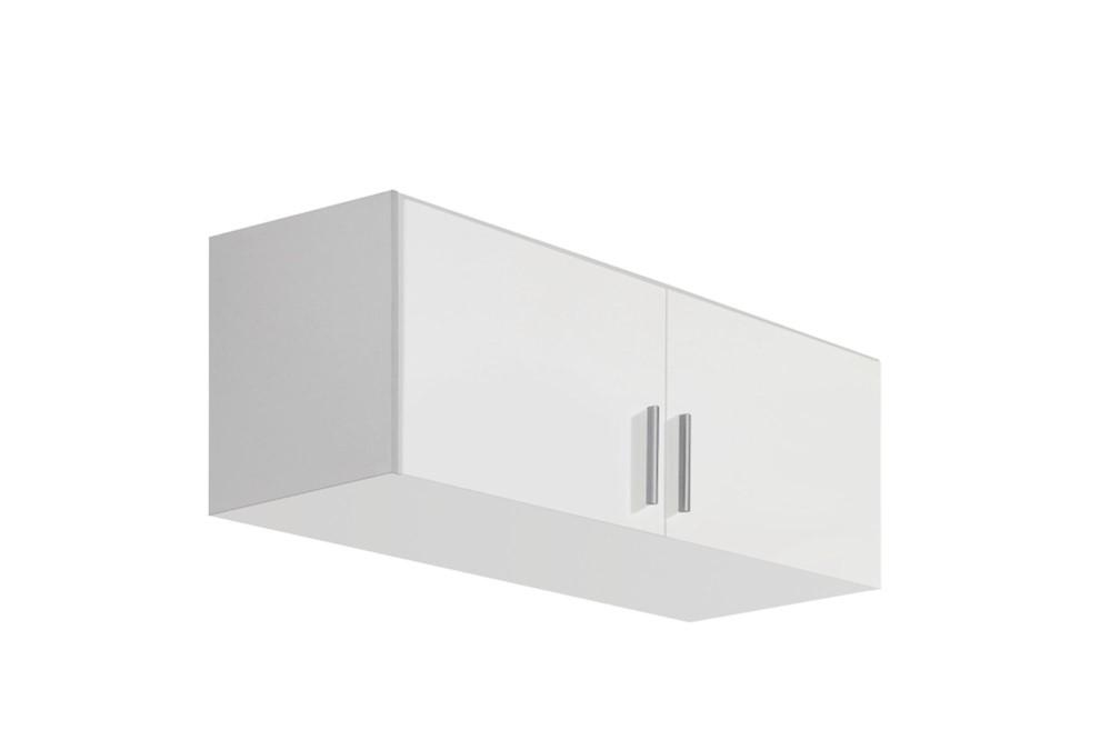 Schrankaufsatz CELLE weiß / alpinweiß 91 x 39 x 54 cm