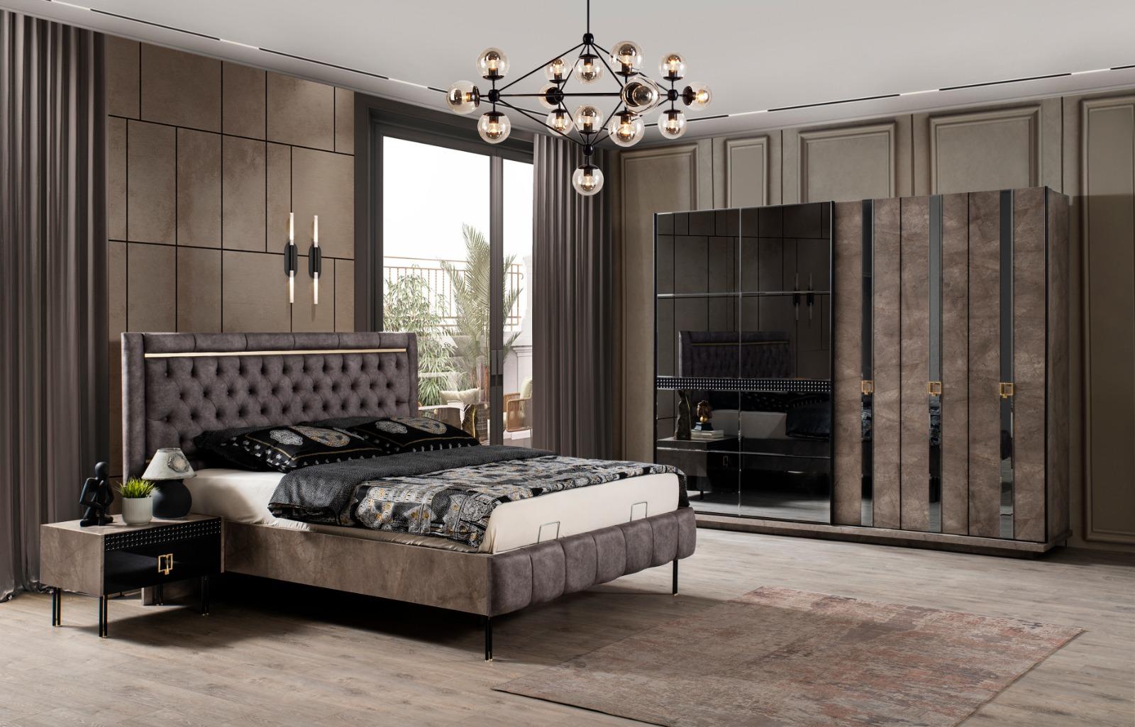 Lake Schlafzimmer Polo mit Bett in 180x200 cm
