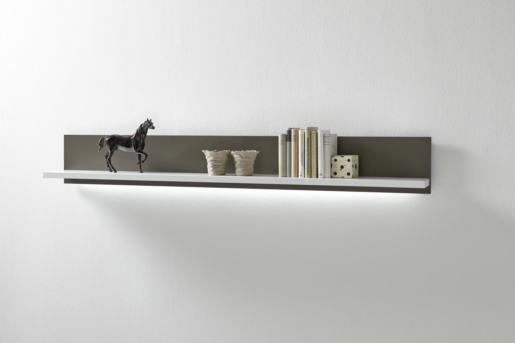 Wohnwand Fillipe 4-teilig Highboard Rechts