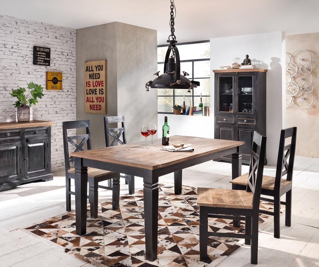 Sit Tischgruppe Corsica 5-teilig 180x90
