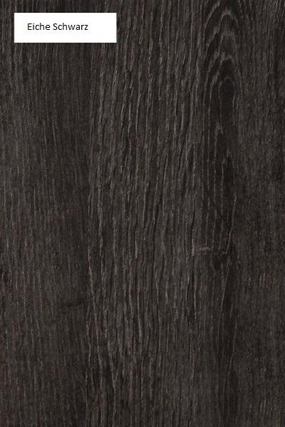 Schwebendes Bett Rielle 120x190 Eiche Schwarz Links