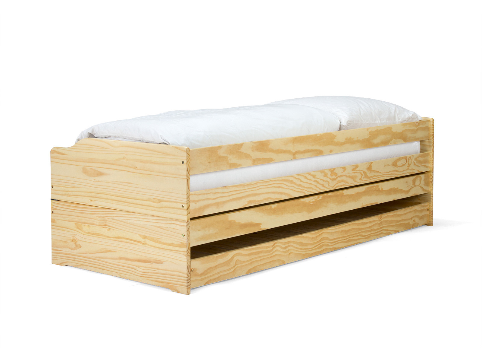 Sokara Sofabett mit 2 Lattenrosten Zerlegbar Natur