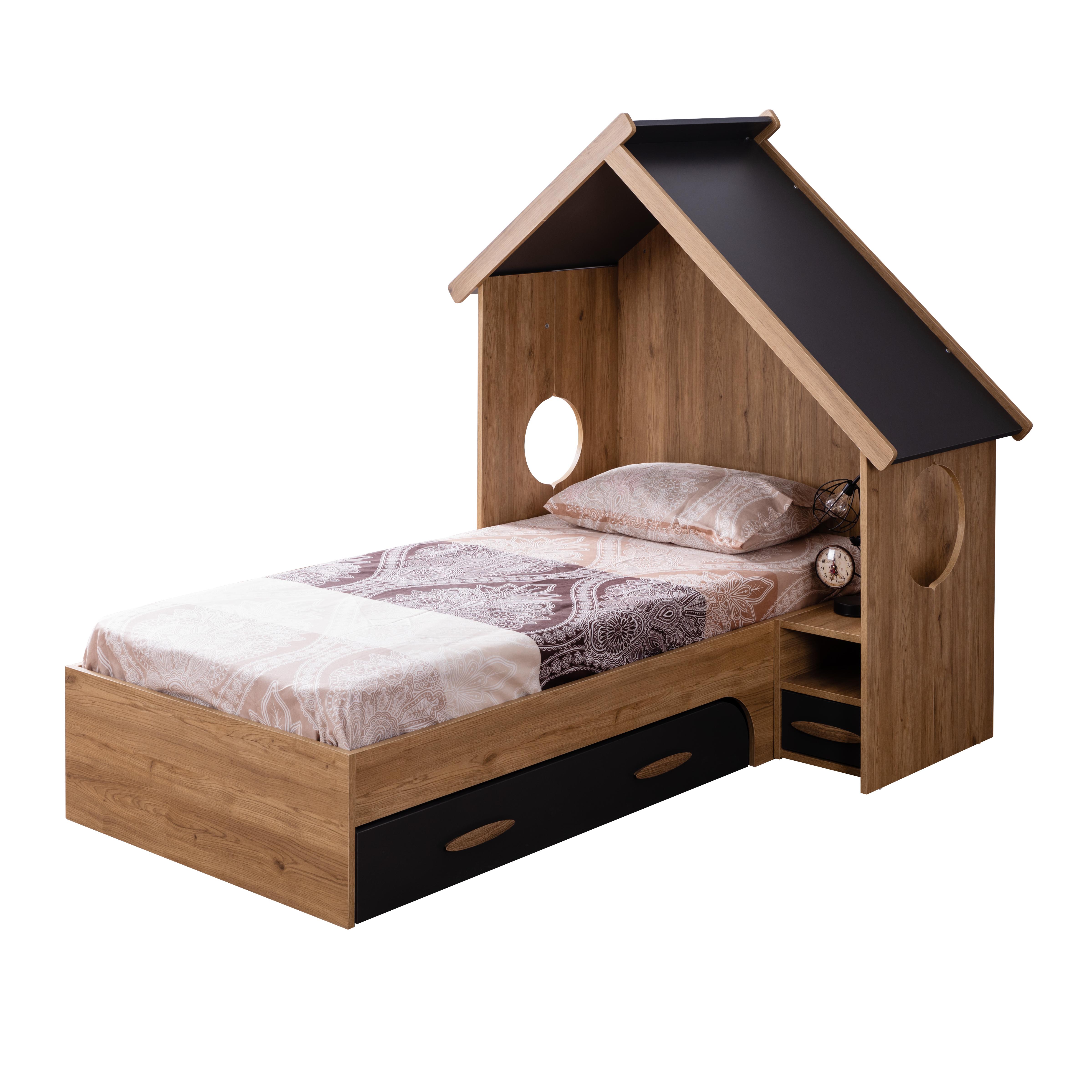 Odacix Hausbett Sultan Montessori in Vogelhausdesign