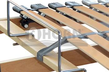 7 Zonen Lattenrost Rolly motorisch verstellbar Standard 100x200cm