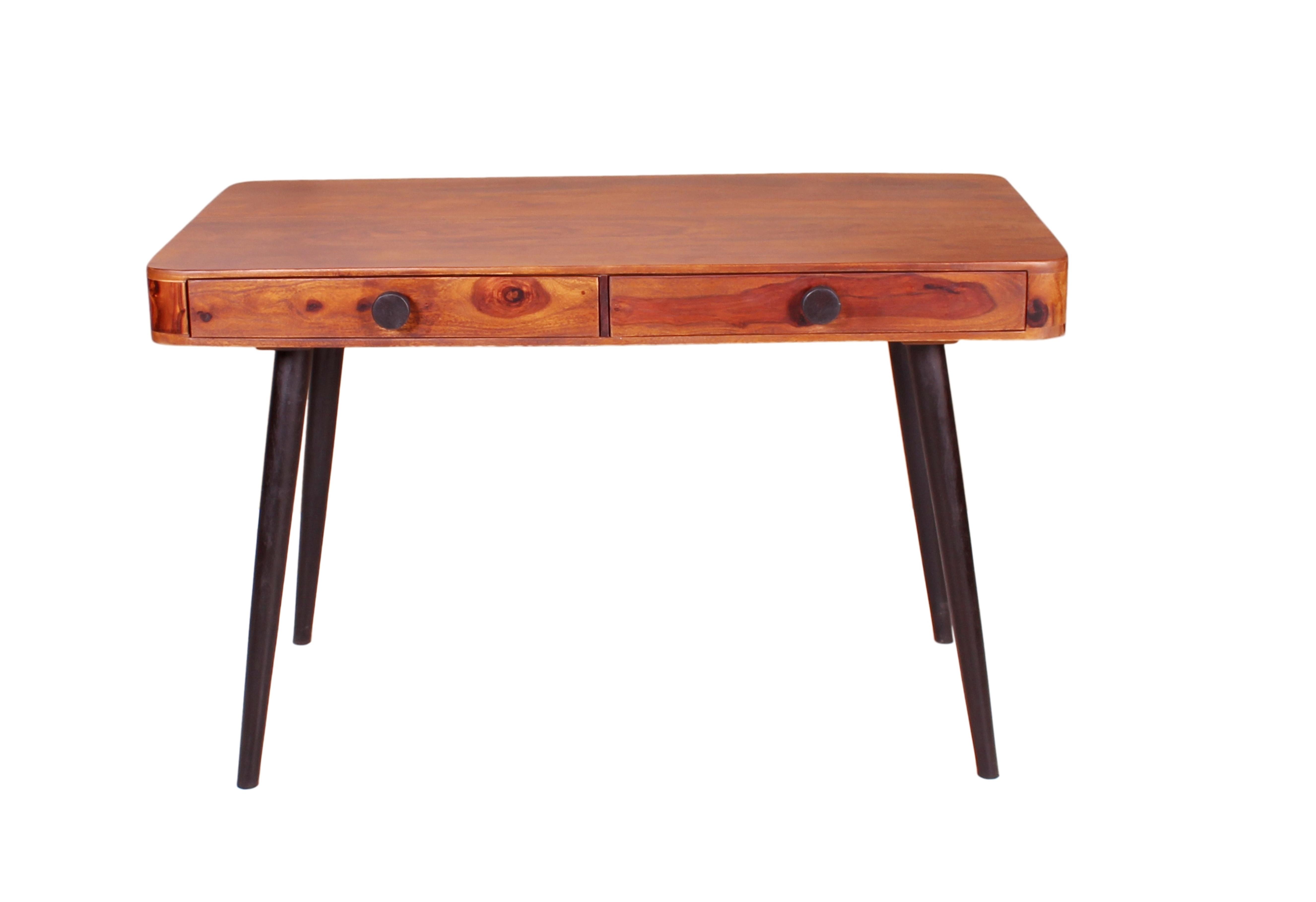 Sit Knob Schreibtisch Sheesham Natur 120x60