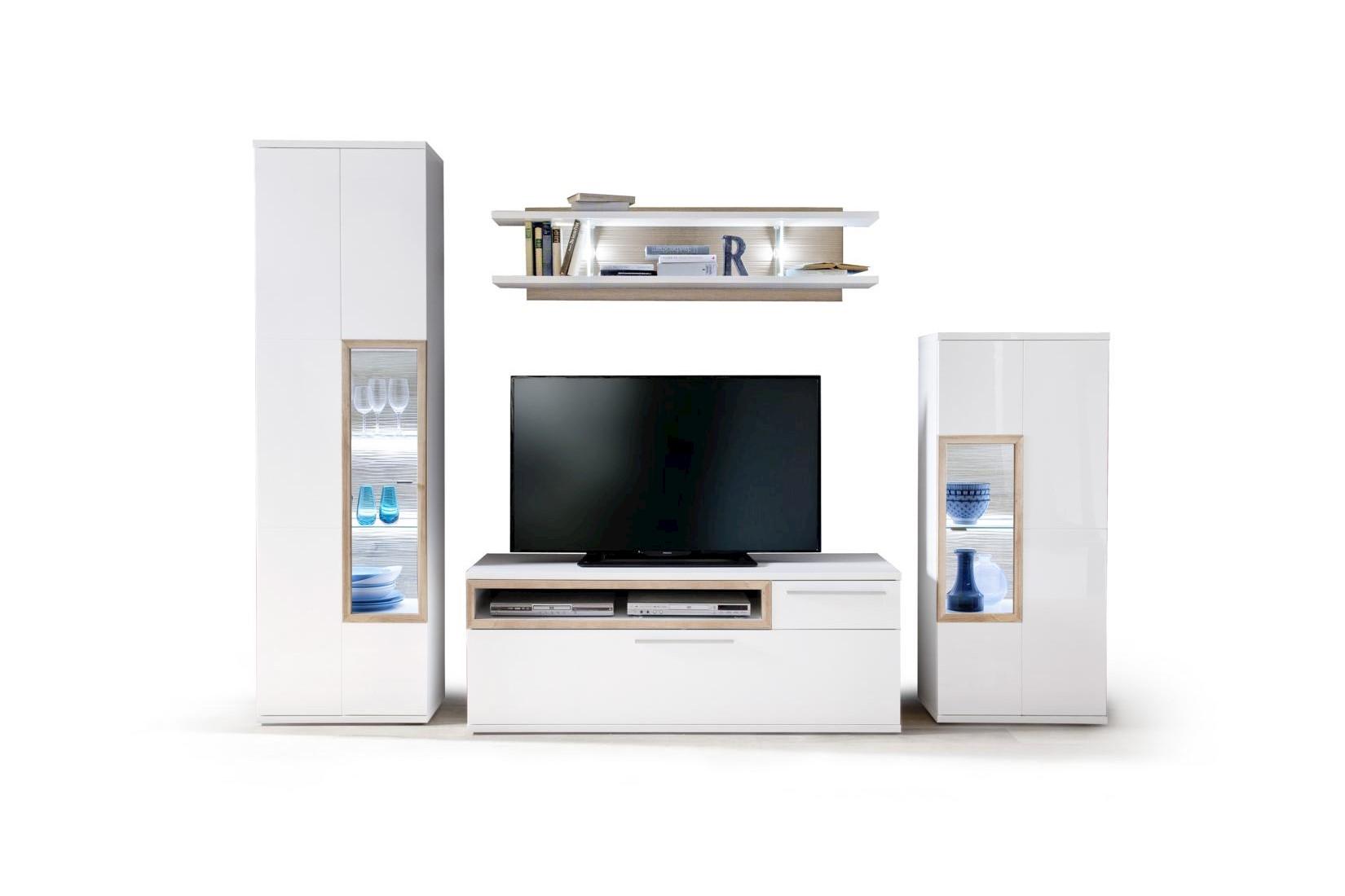 Pala TV-Unterschrank Weiß 150x57x50
