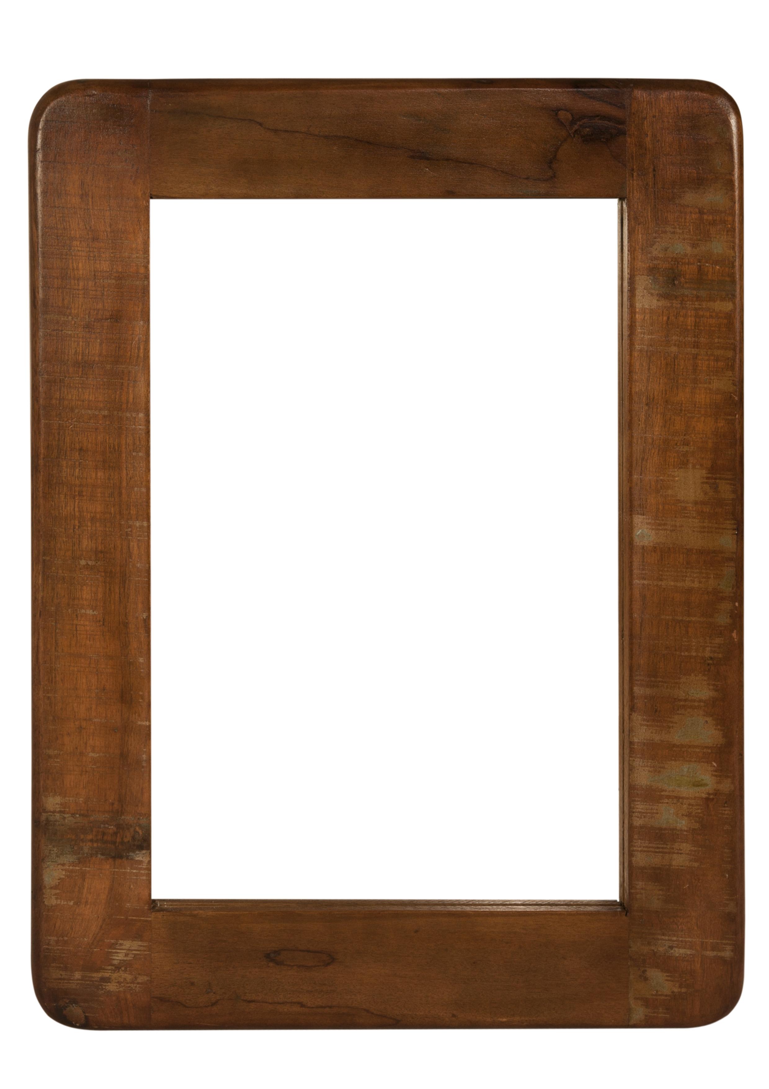 Sit Fridge Wandspiegel aus Altholz