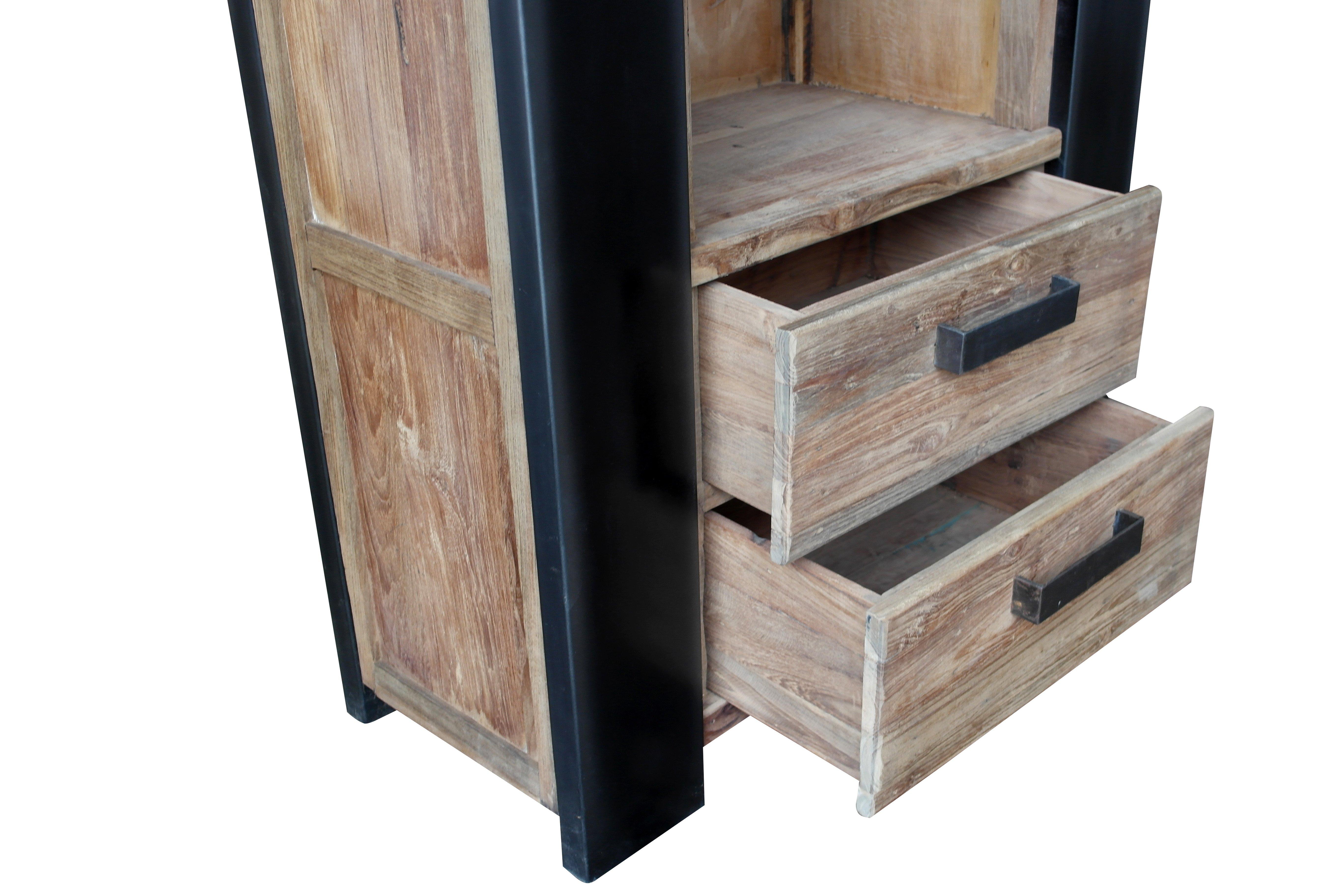 Sit Bücherregal Croco aus recyceltem Teakholz