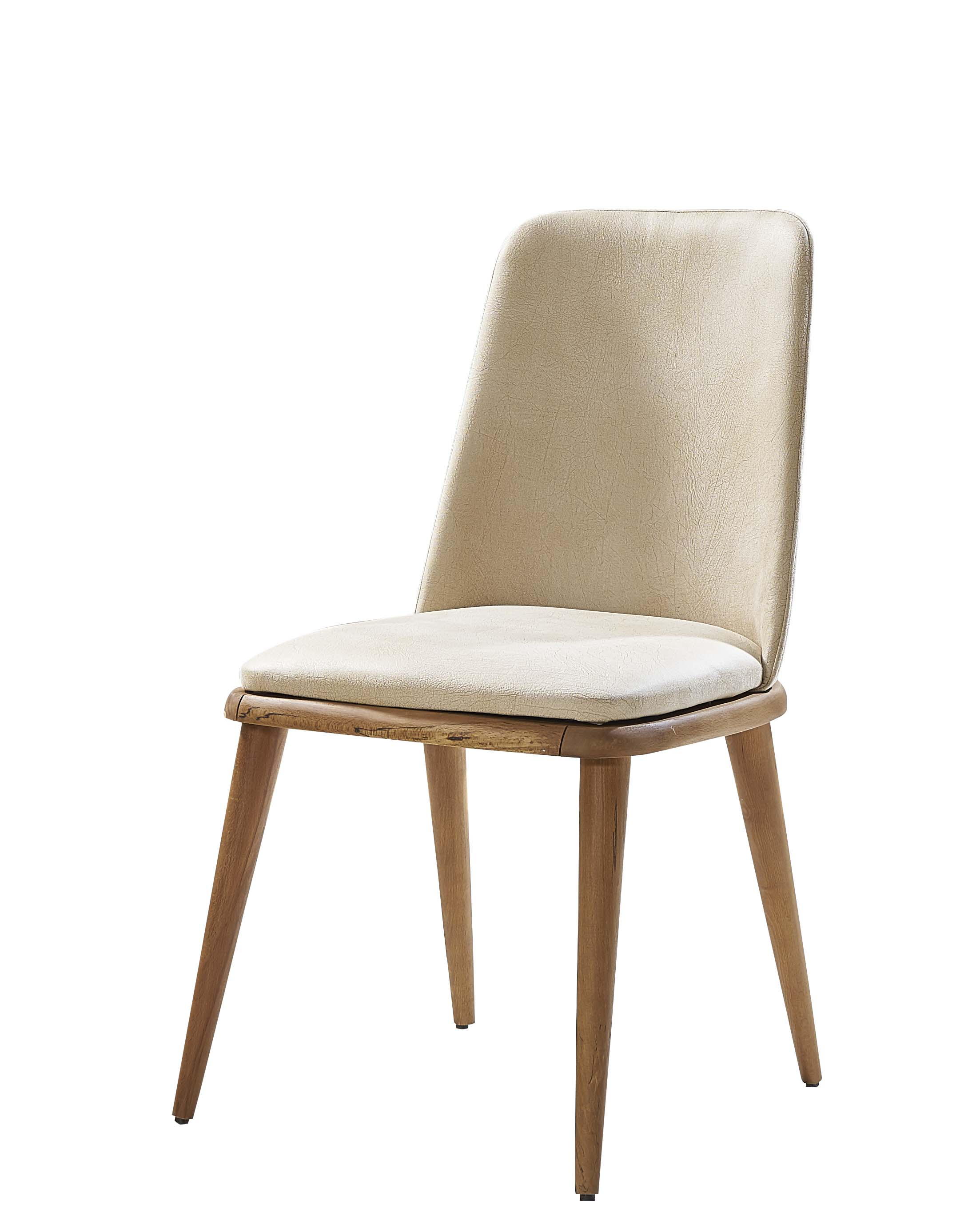 Lidya Esszimmer Stuhl Panama mit Massivholz Beinen