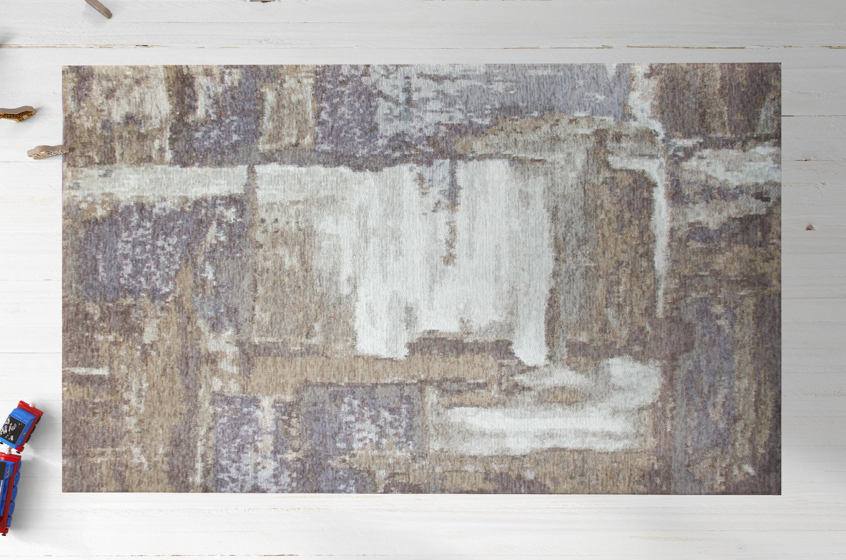 Almila Teppich Origami gemustert 120x180 cm
