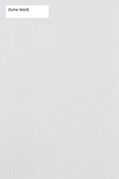 Schwebendes Bett Rielle 100x190 Eiche Weiß Links