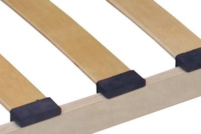 3 Zonen Lattenrost Harry mit 15 Federleisten 100x190cm