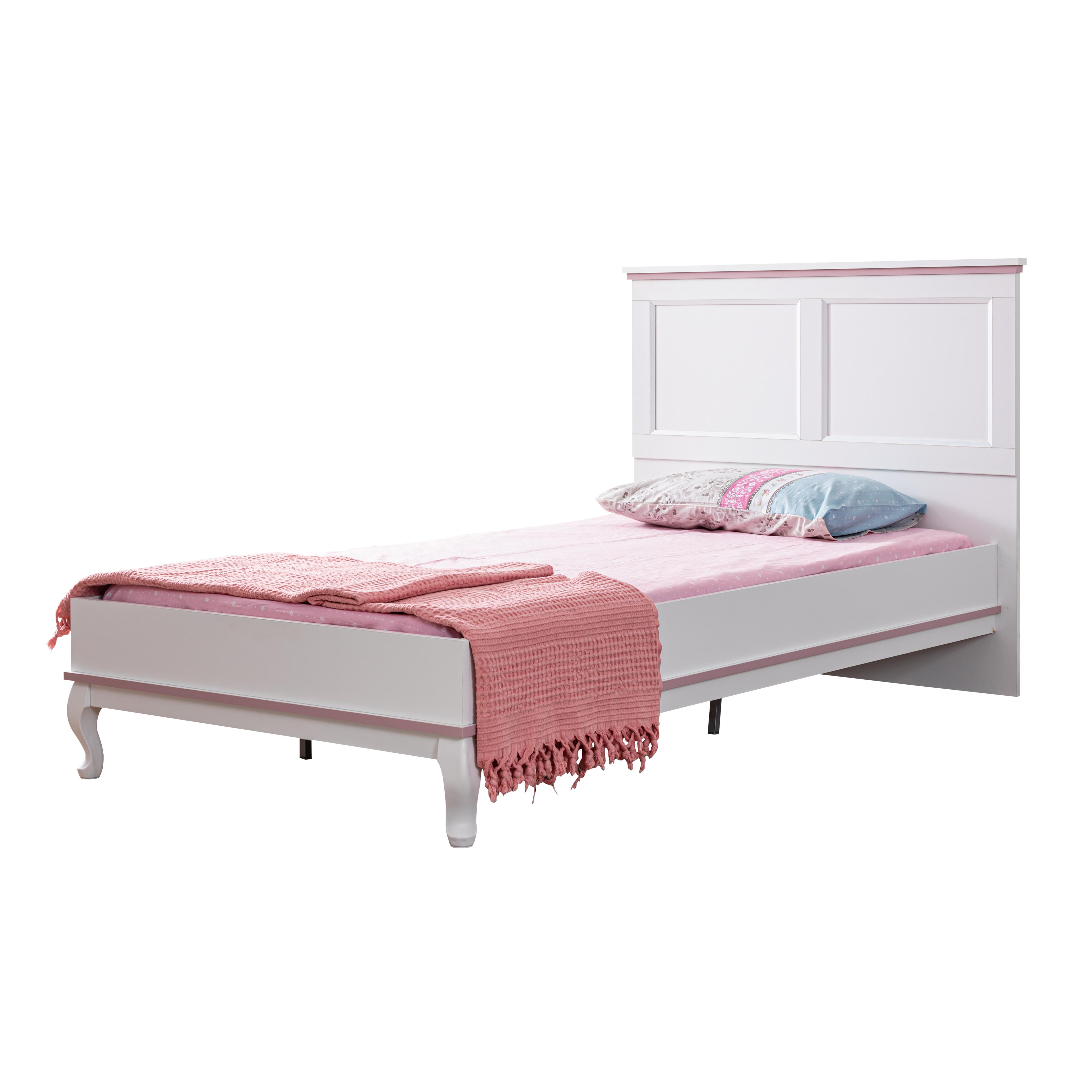 Odacix Jugendbett Lilyum in Weiß und Rosa