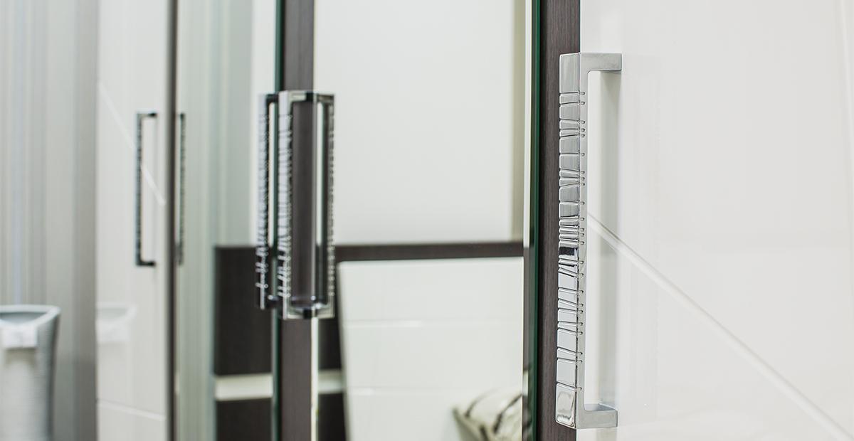 Kleiderschrank mit Spiegel Barcelona 4-türig