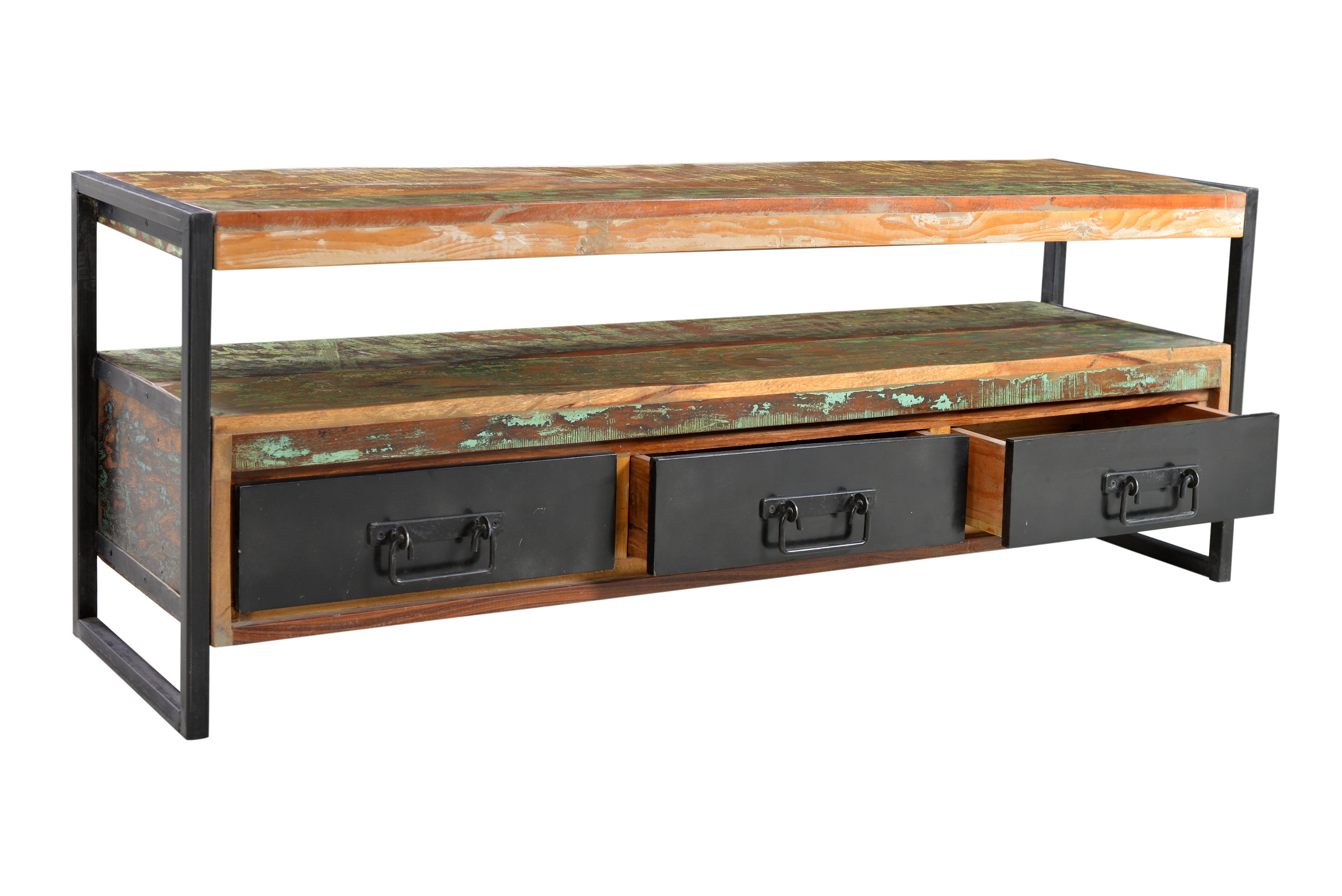 Sit TV Lowboard Bali Altholz mit Schubkästen