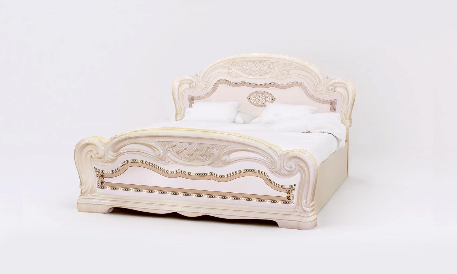 Bett Esperanza Beige 160 x 200 cm