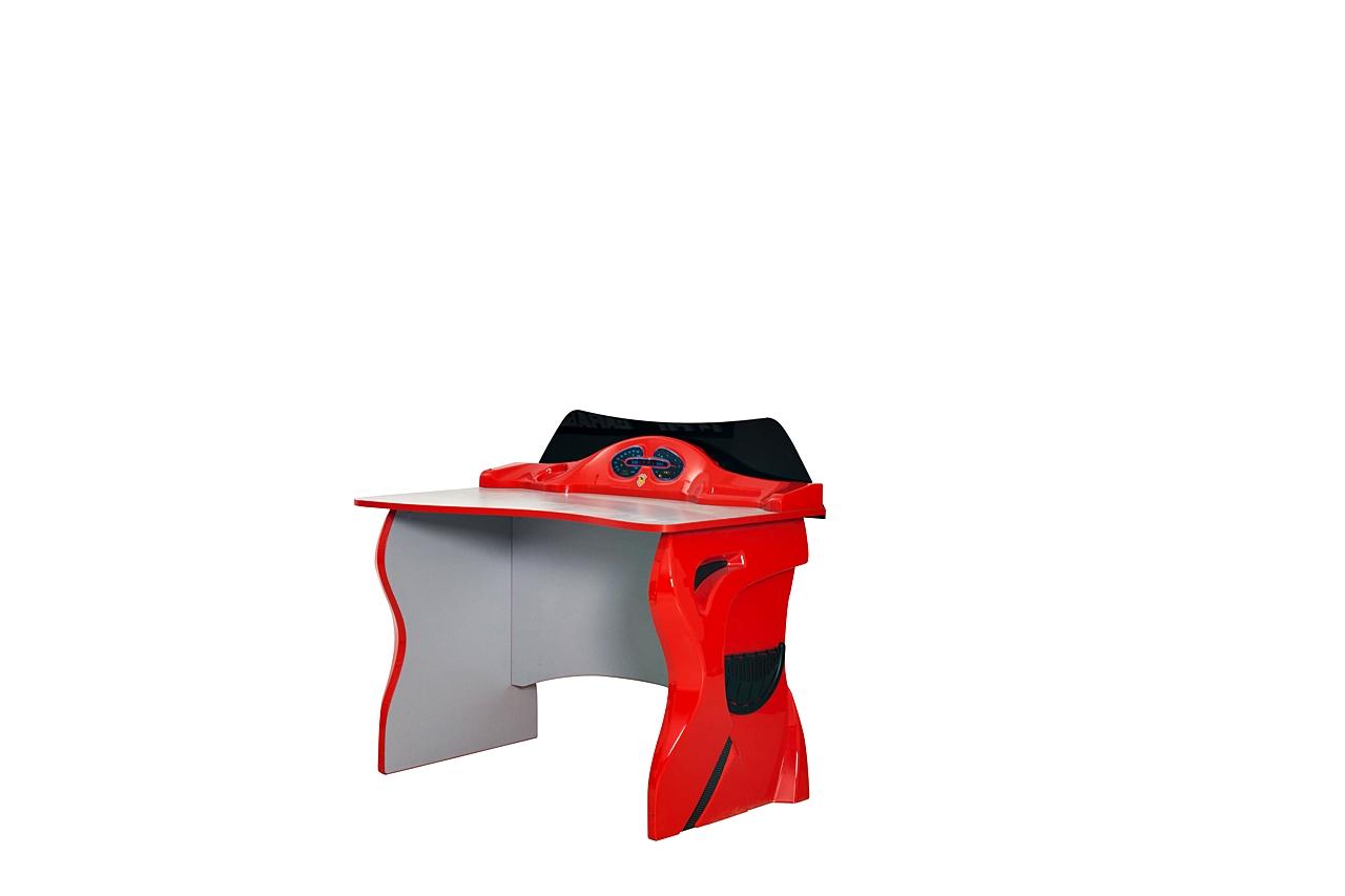 Titi Schülerschreibtisch Cat Garage in Rot