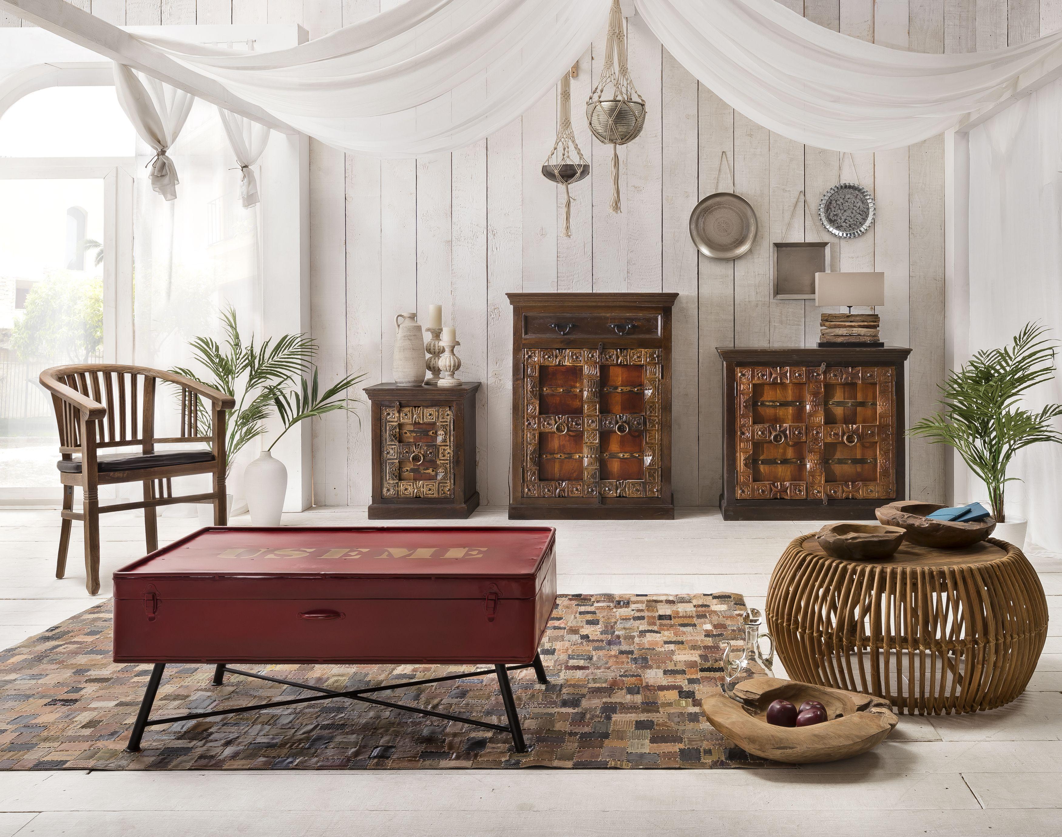 Sit Sideboard Almirah aus recyceltem Holz 2-türig