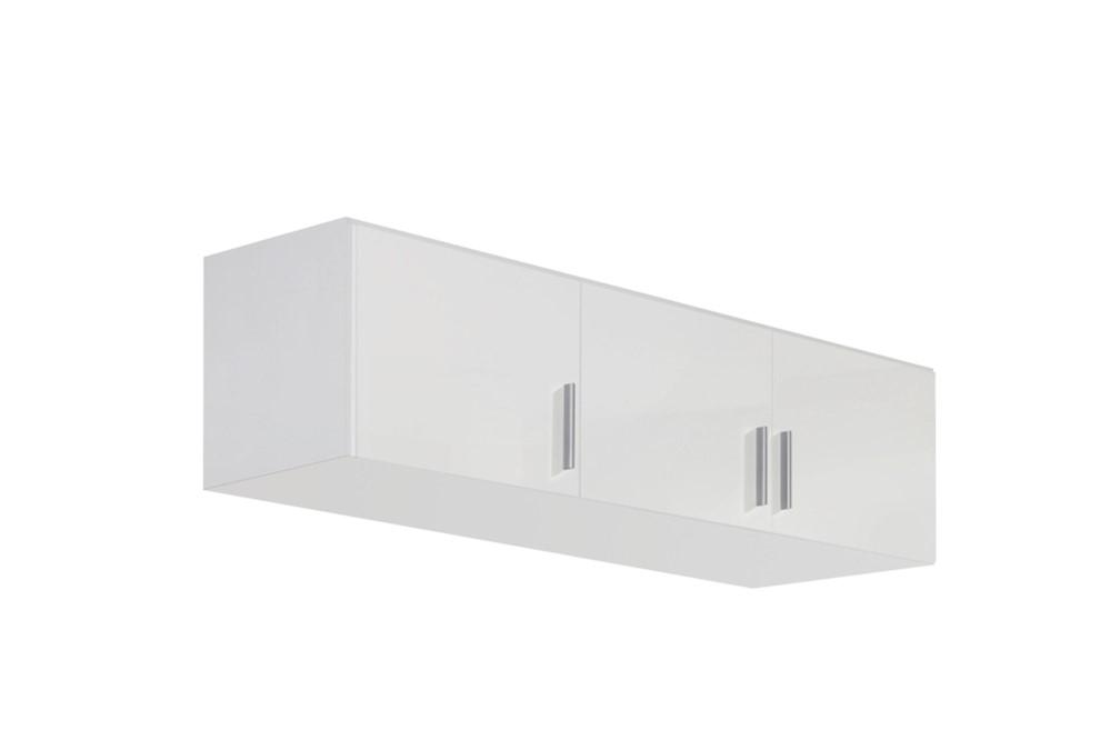 Schrankaufsatz CELLE weiß / alpinweiß 136 x 39 x 54 cm