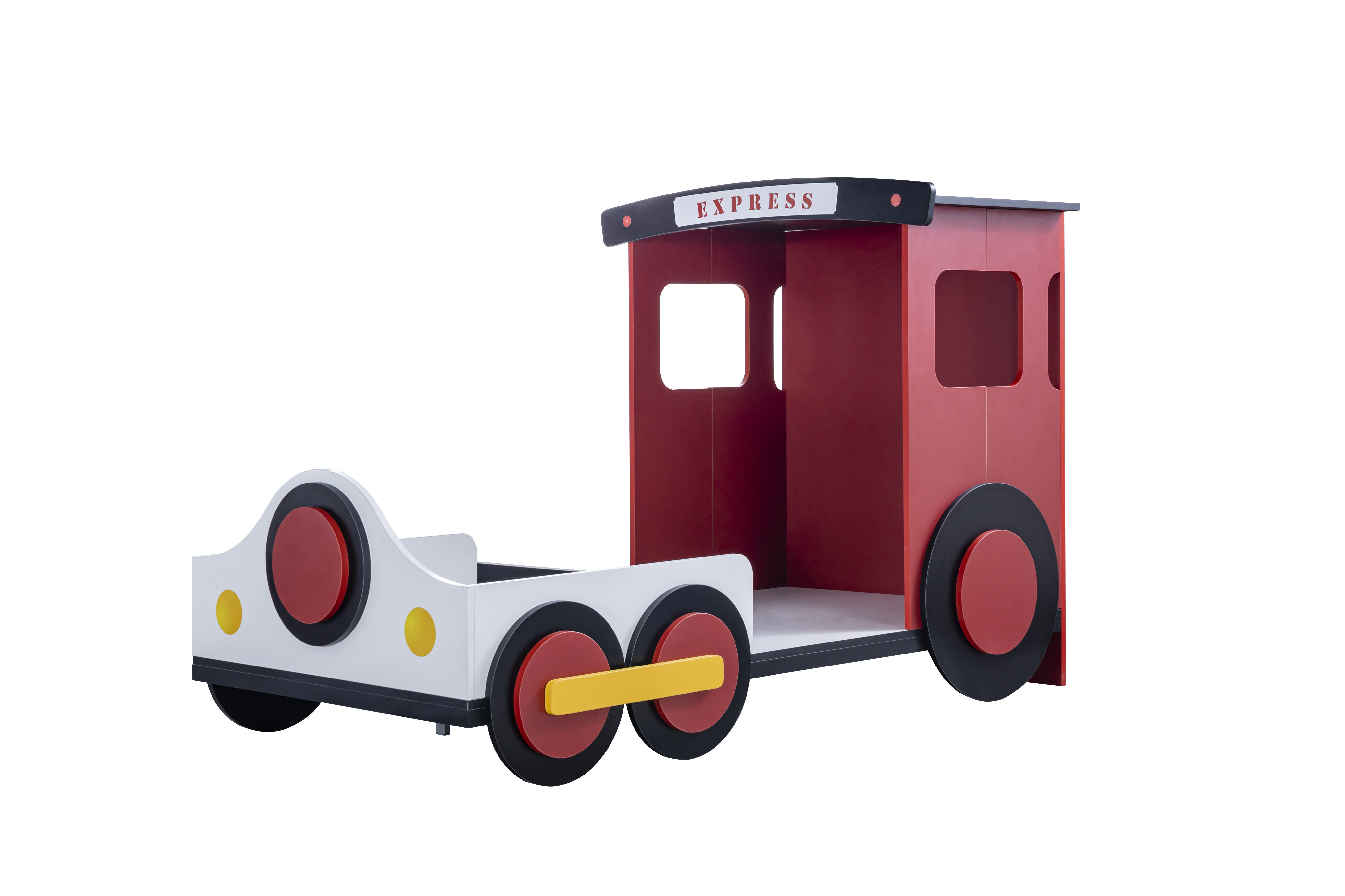 Odacix Kinderbett Express im Lokomotiven Design