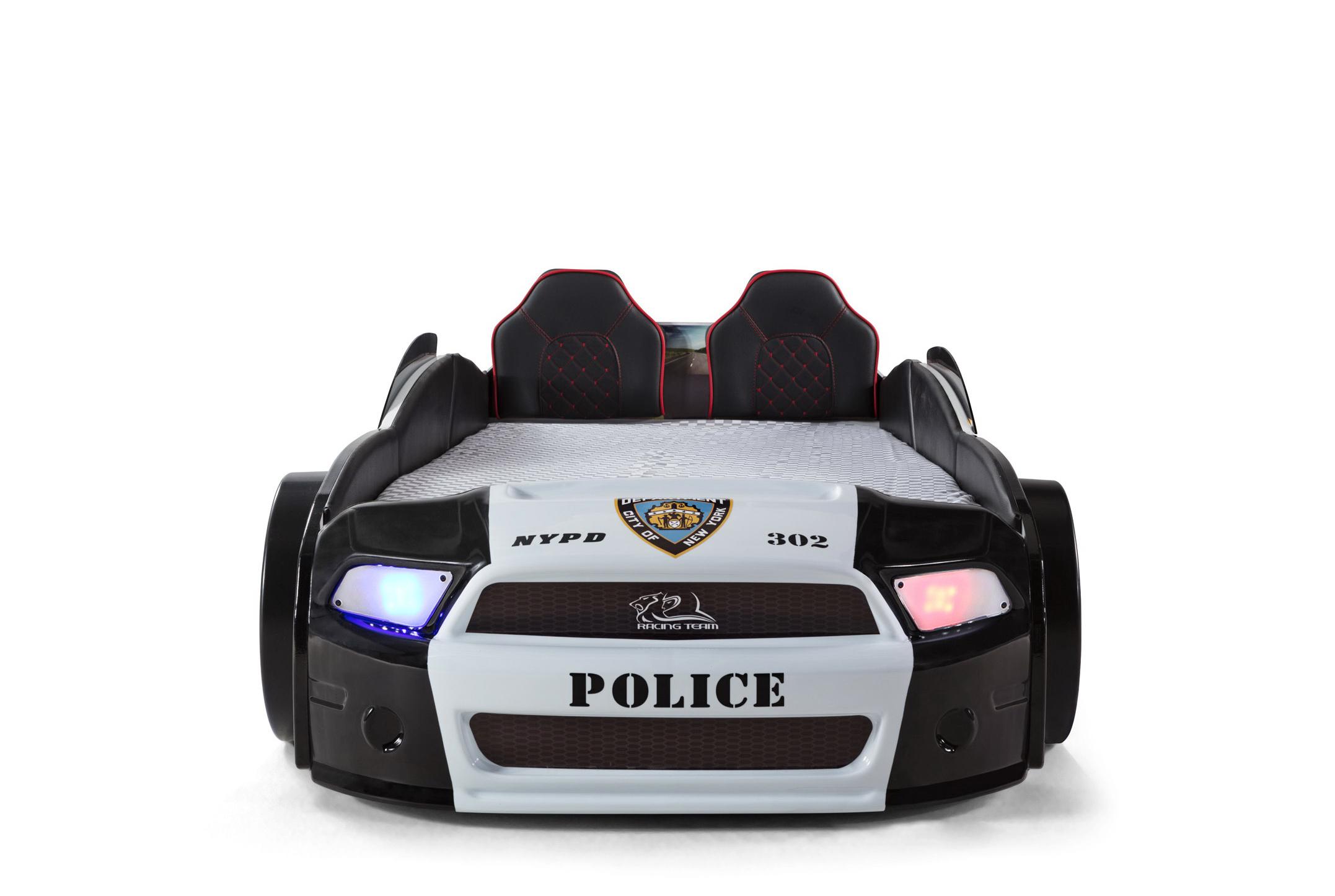Autobett Must Rider Police 500 Ausstellungsstück